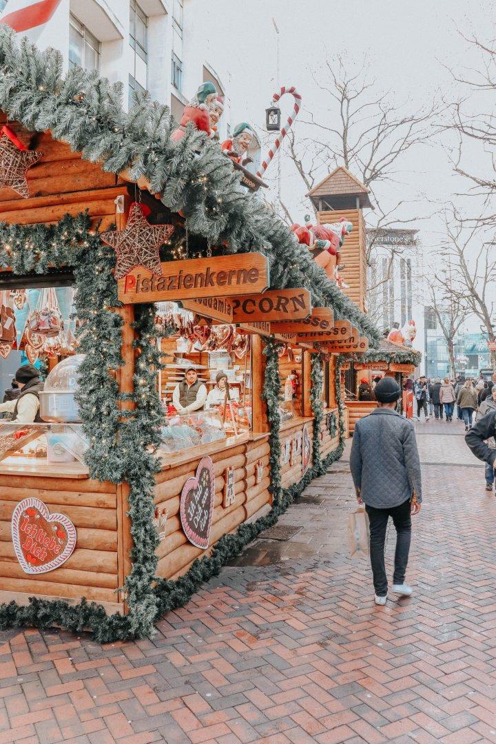 Christmas in Germany in England — beer, schnitzel and pretzels in Birmingham photoalbum