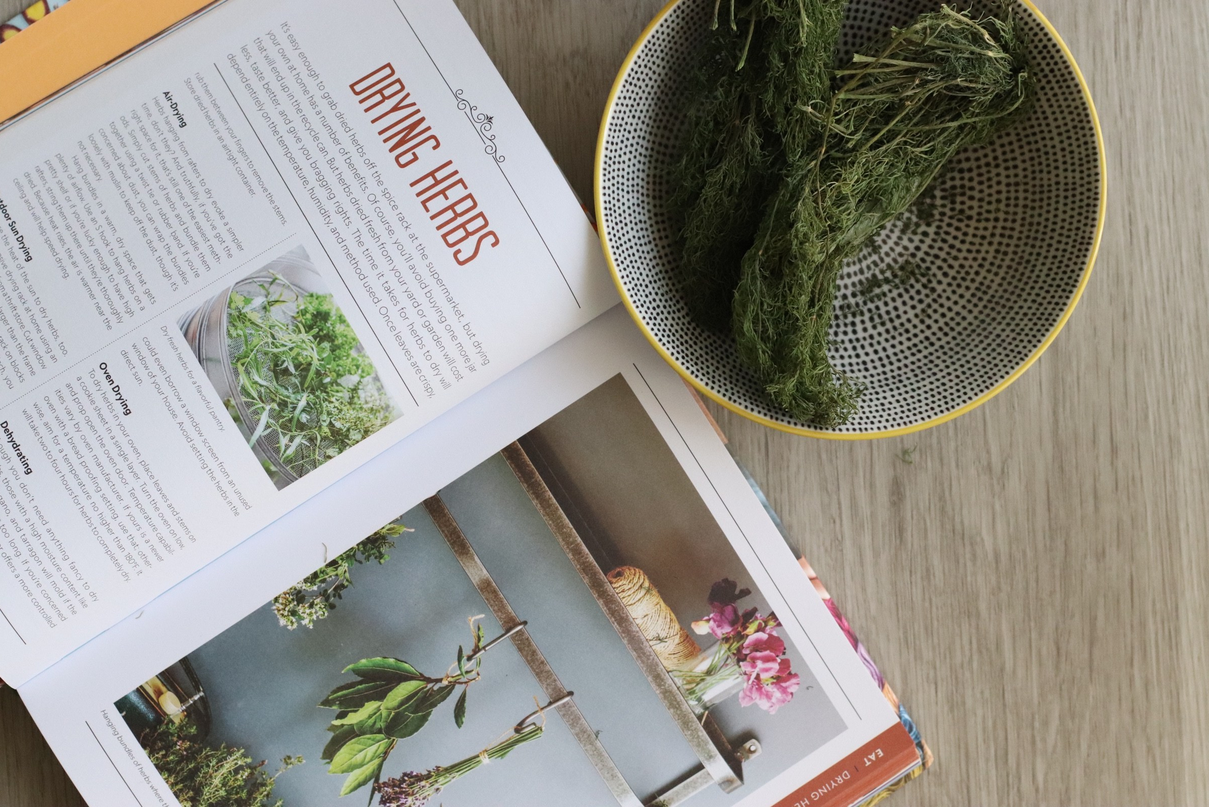 Drying Herbs Attainable Sustainable Sustainability Guide